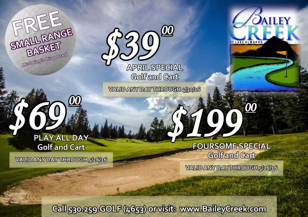 2016 Golf Postcard