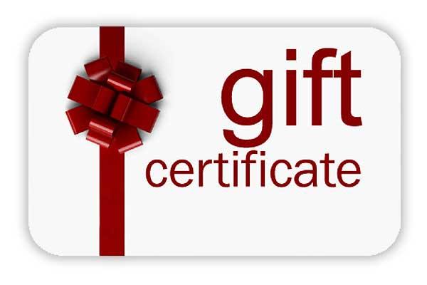50 gift certificate bailey creek golf course